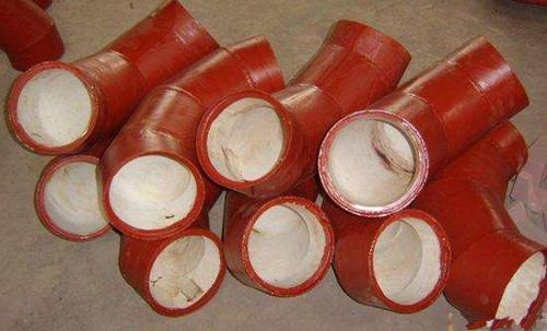 陶瓷贴片耐磨管件